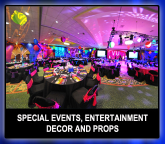 Special Events Scenic Decor