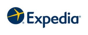 Image of the logo of Expedia